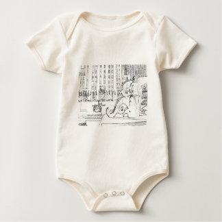 rockfeller center 2 baby bodysuit