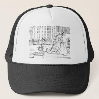 rockfeller center 2 trucker hat