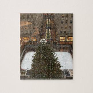 Rockfeller Center Christmas Tree NYC Xmas Puzzle