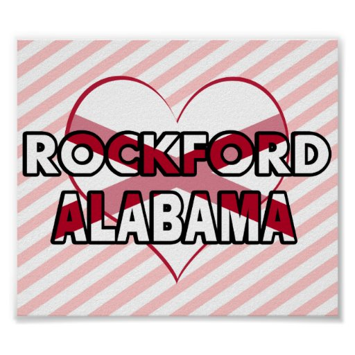 ROCKFORD, Alabama Posters