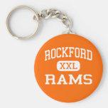 ROCKFORD - espolones - High School secundaria - RO Llavero Personalizado