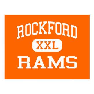 ROCKFORD - espolones - High School secundaria - RO Tarjeta Postal