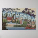 ROCKFORD, Illinois - escenas grandes de la letra Posters