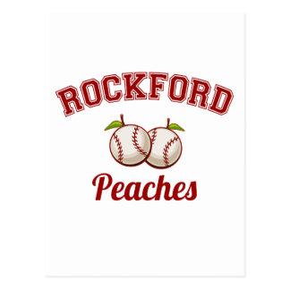 Rockford Peaches Postcard