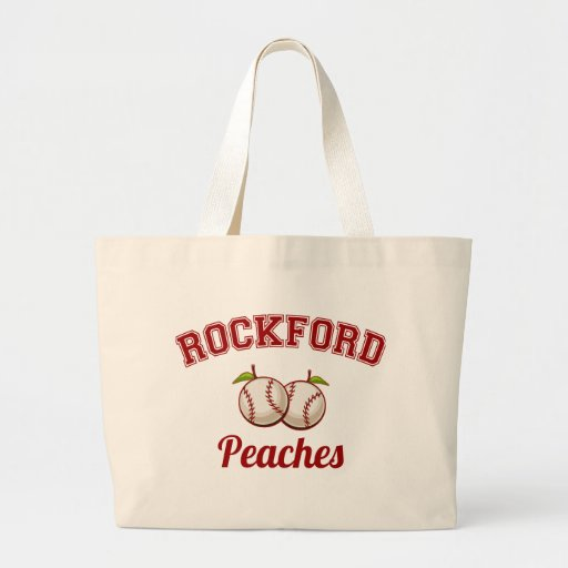 Rockford Peaches Tote Bags