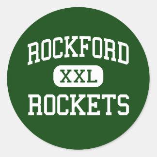 Rockford - Rockets - High - Rockford Minnesota Stickers