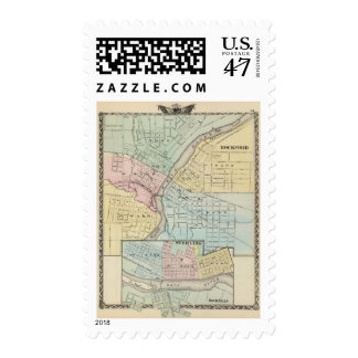 Rockford, Sterling and Rock Falls Postage
