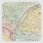 Rockford, Sterling and Rock Falls Square Sticker
