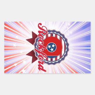 Rockford, TN Rectangular Stickers