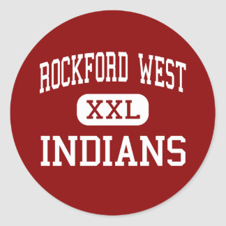 Rockford West - Indians - Middle - Rockford Stickers