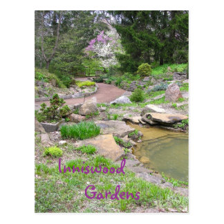 """RockGarden at Inniswood"" Postcard"