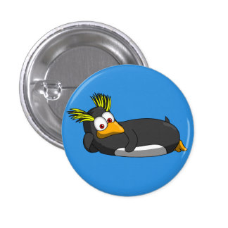 Rockhopper button 4 inches