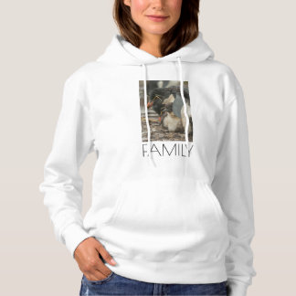 Rockhopper penguin and chick hoodie