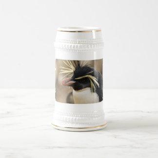 Rockhopper Penguin  Beer Stein 18 Oz Beer Stein