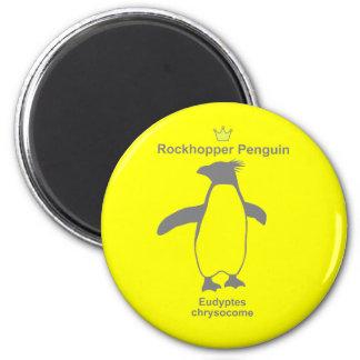 Rockhopper Penguin g5 2 Inch Round Magnet