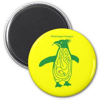 Rockhopper Penguin Maze G 2 Inch Round Magnet