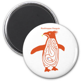 Rockhopper Penguin Maze R 2 Inch Round Magnet