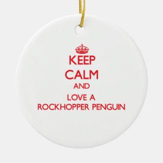 Rockhopper Penguin Christmas Tree Ornament