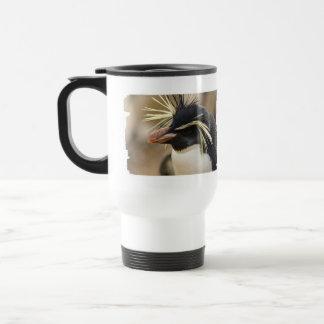 Rockhopper Penguin Plastic Travel Mug