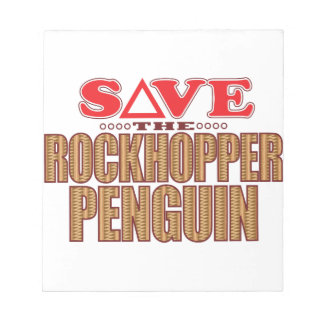 Rockhopper Penguin Save Notepad