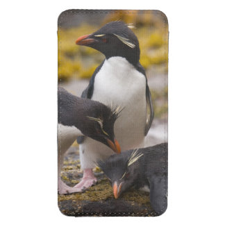 Rockhopper penguins communicate with each other galaxy s4 pouch