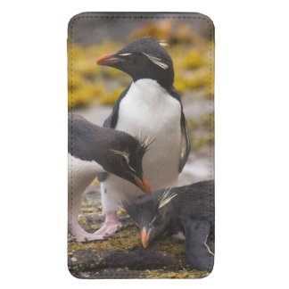 Rockhopper penguins communicate with each other galaxy s5 pouch