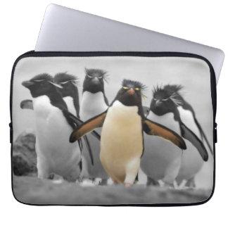 Rockhopper Penguins Laptop Sleeve