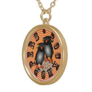 RockHopper Penguins Neclace Gold Plated Necklace