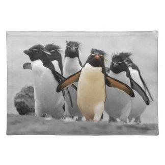 Rockhopper Penguins Placemat