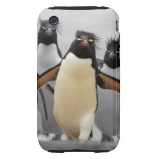 Rockhopper Penguins Tough iPhone 3 Cover