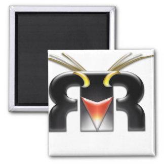 Rockhopper VFX logo 2 Inch Square Magnet