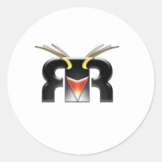 Rockhopper VFX logo Round Sticker