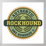 Rockhound auténtico posters