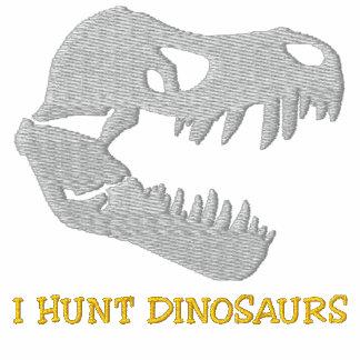 """Rockhound """"cazo los dinosaurios"""" Sweatshir bordado Sudadera Con Capucha"""