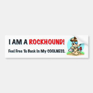 Rockhound Coolness Bumper Sticker