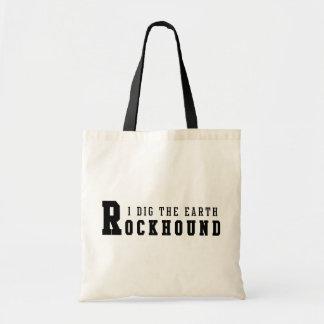 "Rockhound ""I Dig The Earth"" Tote Bag"