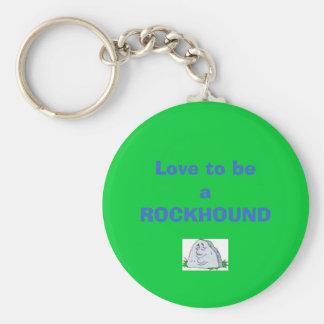 Rockhound Keychain