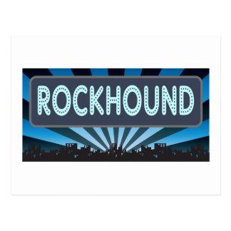 Rockhound Marquee Postcard