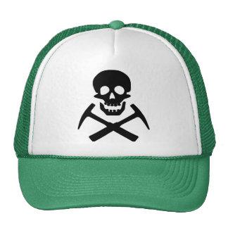 Rockhound Skull Cross Picks Hats