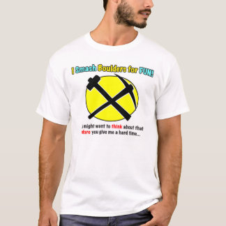 Rockhound Warning! Mens Shirts