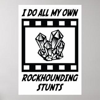 Rockhounding Stunts Poster