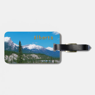 Rockies Mountains Tag For Luggage