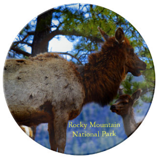 Rockies National Park Plate
