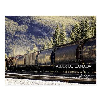 Rockies y trenes, Alberta Canadá (foto de la bella