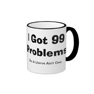Rockin' A Hysterectomy Ringer Coffee Mug