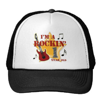 Rockin' Age 1 Trucker Hat