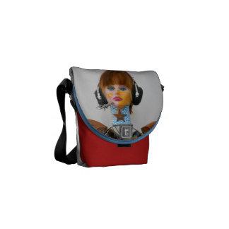 Rockin All CUSTOMIZED Keri Art WOO-HOO Messenger Bags