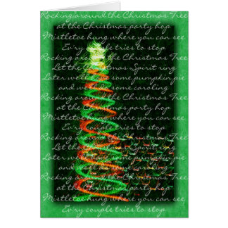 Rockin' Around the Christmas Tree Card