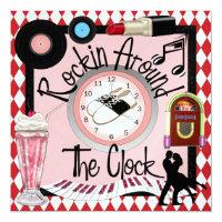 Rockin' Around the Clock Party - SRF Invitation
