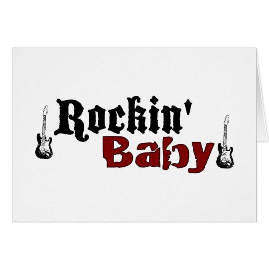 Rockin Baby Card